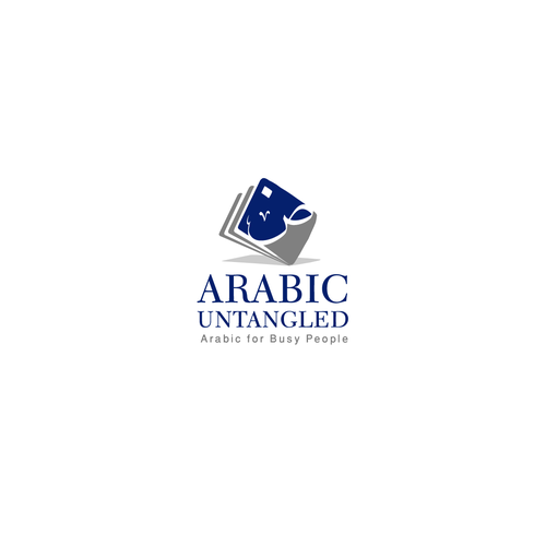 Create an exciting branding logo for Arabic Untangled