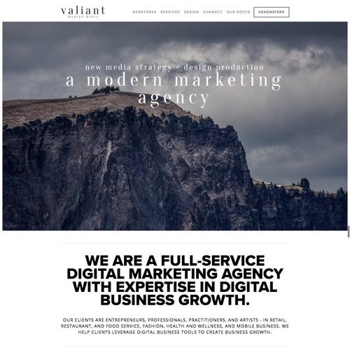 Valiant. modern media.