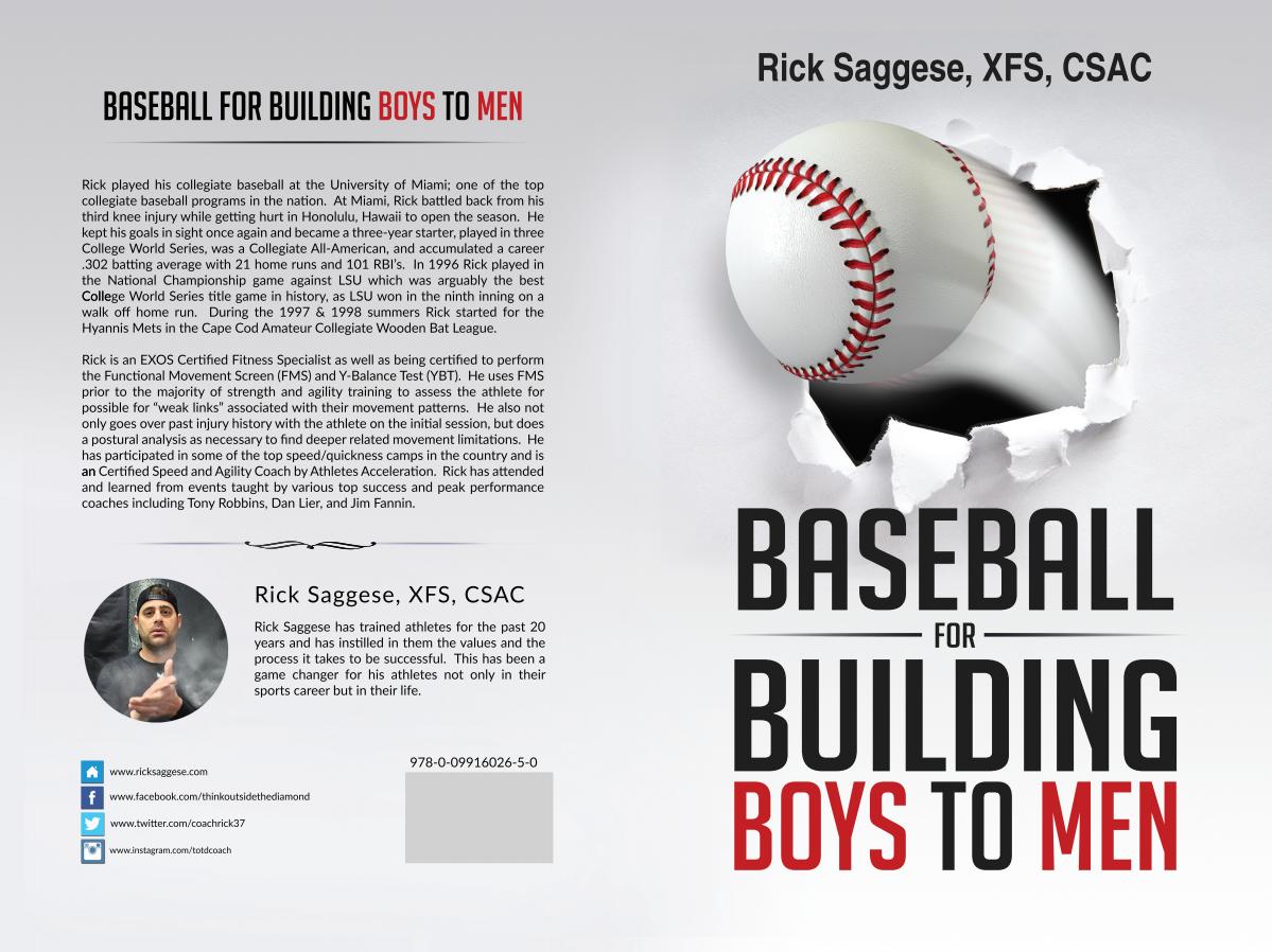 book- baseball for building boys to men