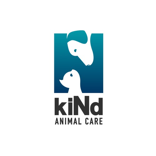 simple and elegant concept for kiNd ANIMAL CARE