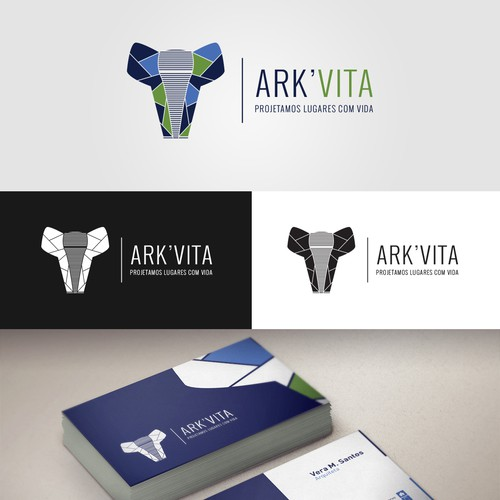 Winning entry for Ark'Vita Logo Contest