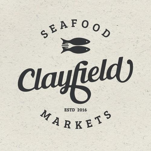 Simple logo design for fish restaurant