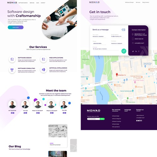 Design for corporate it company