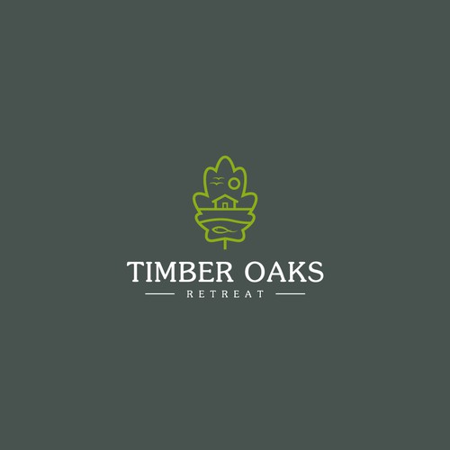 Logo for Timber Oaks Retreat