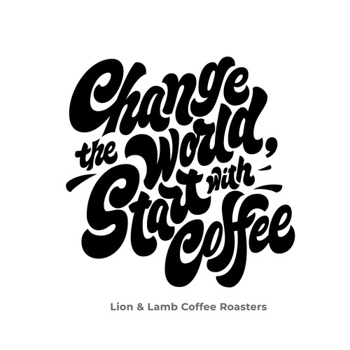 Fun bold quote lettering for T-Shirt