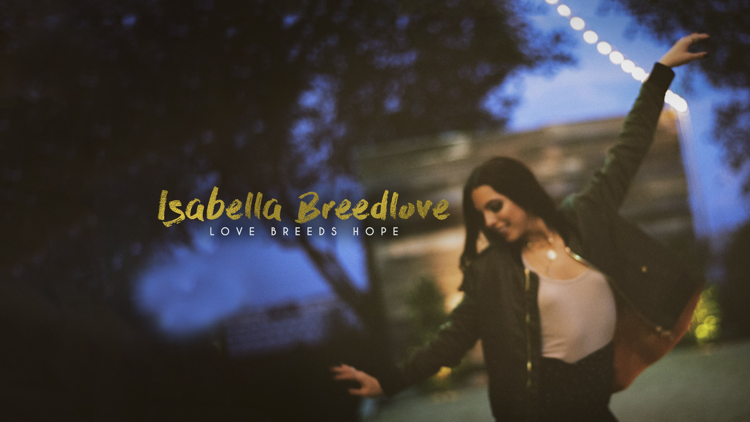 Create a powerful You Tube cover for Isabella Breedlove an upcoming Country Artist.