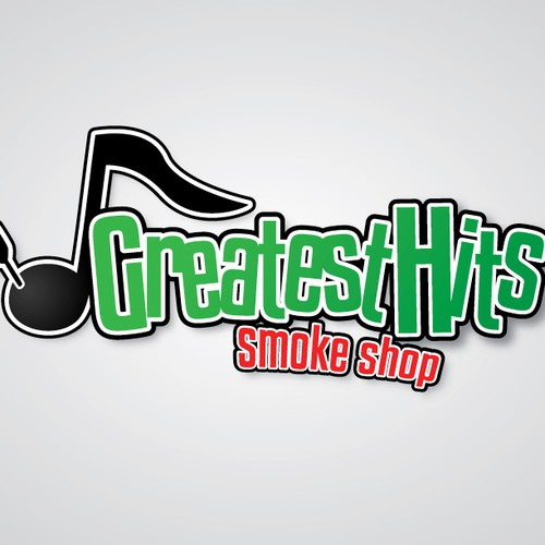 Greatest Hits Smoke Shop needs a new logo