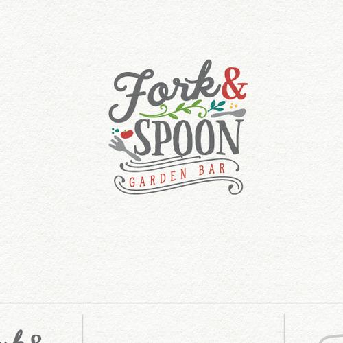 Logo for garden bar.