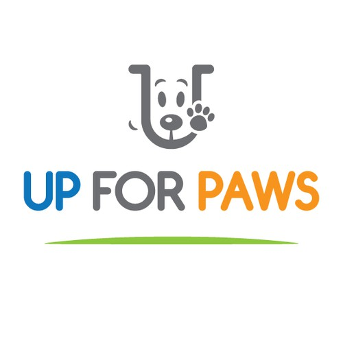 Up For Paws logo