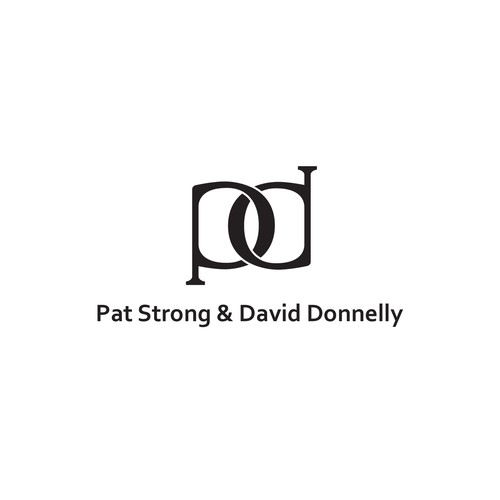 P&D Monogram Logo for an elder couple.