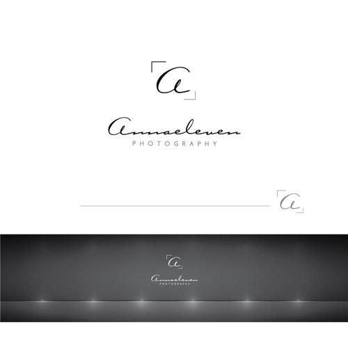 Create an elegant logo for beauty photography brand