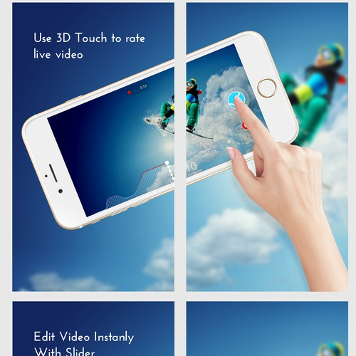 Screenshot iPhone video Apps