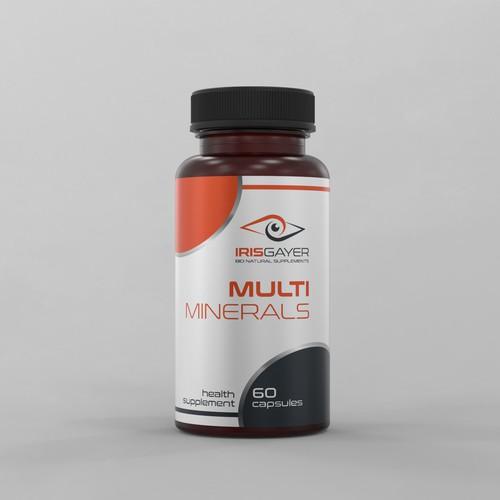 Label Design for Millennial Health Conscious Supplement