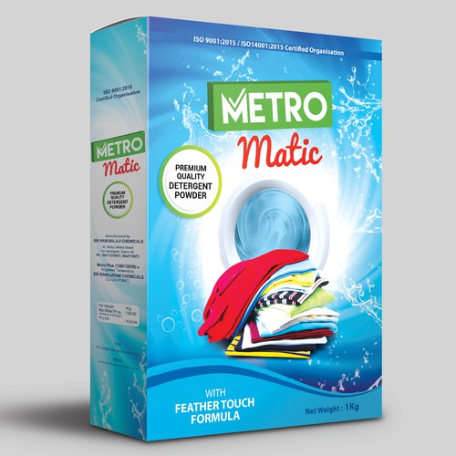 Label Design for METRO MATIC