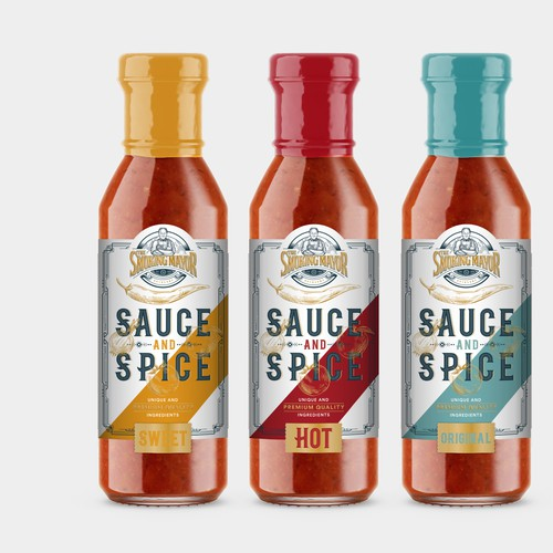 Sauce label