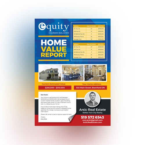 Creative Flyer for Real Estate