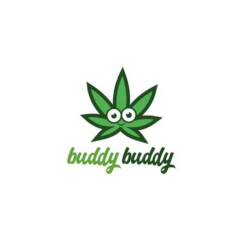 Buddy Buddy cannabis logo