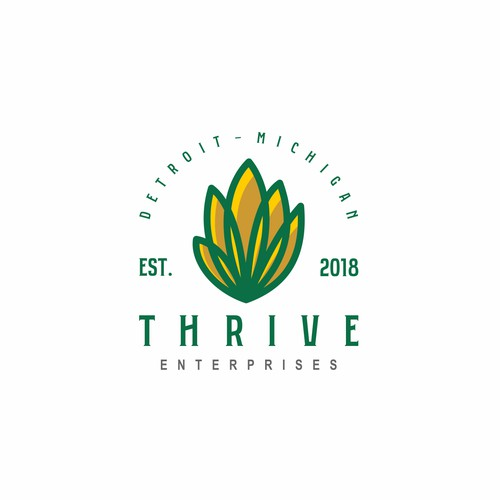 Thrive Enterprise Logo Concept