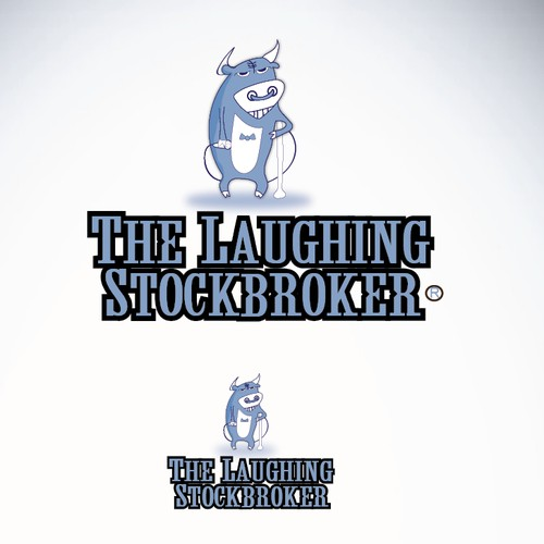 Logo concept for Laughing Stockbroker