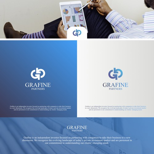 Logo Concept for Grafine Partners