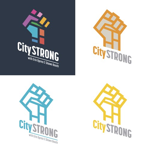 City outdoor fitness logo