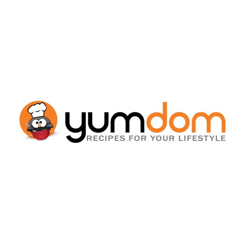 New logo for yumdom.com
