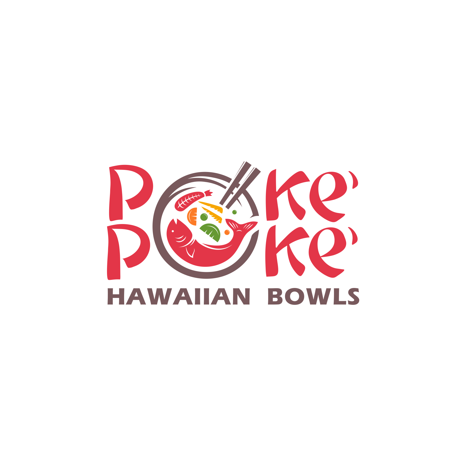 Poke' Bowl Restaurant Needs an Eye catching, modern, hip and memorable Design