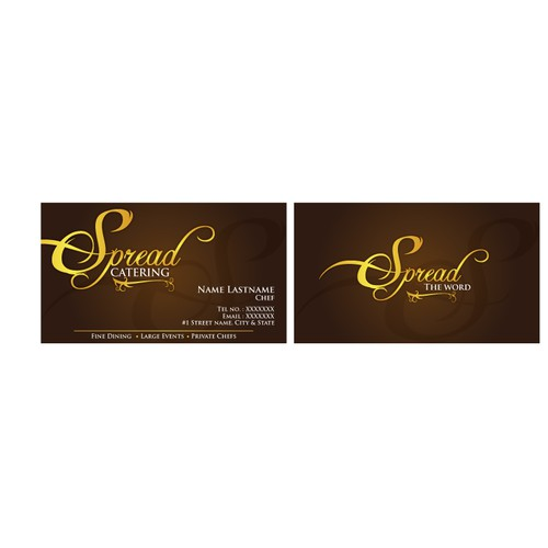 Spread needs a new stationery