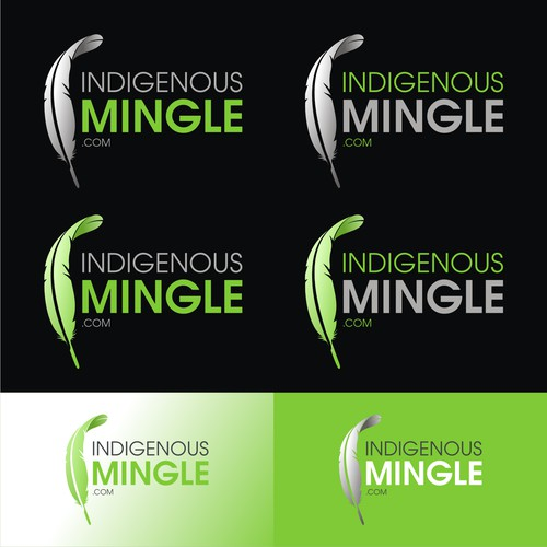 Logo for IndigenousMingle.com