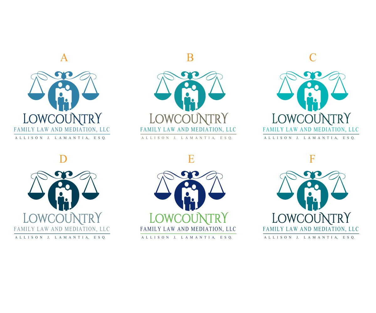 Create a logo for a family law practice located in Charleston, South Carolina