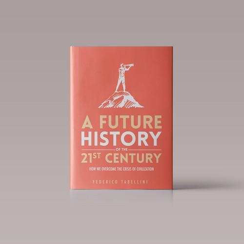 A future history book cover