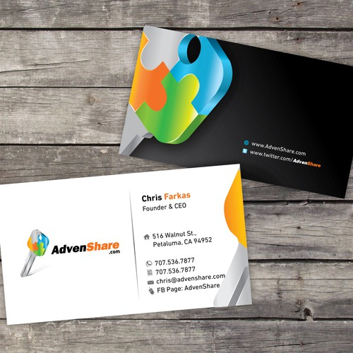 Business cards for high exposure web startup!!