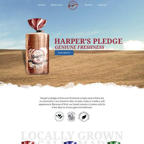 Harper's Pledge