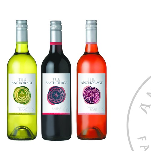artistic wine labels