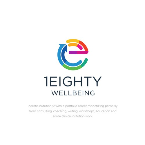 Logo Designs for 1eighty nutritionist