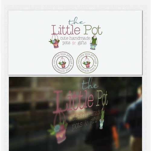Help grow us a logo for The Little Pot