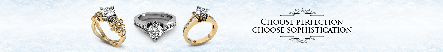 Jewelry Site Banner Ads Recreation
