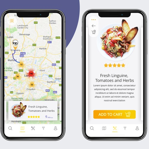 Find nearby restaurants