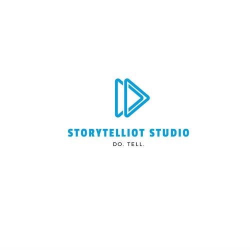 Logo design for Storytelliot Studio