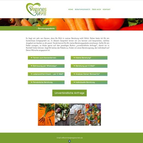 Elegant  VH logo and website