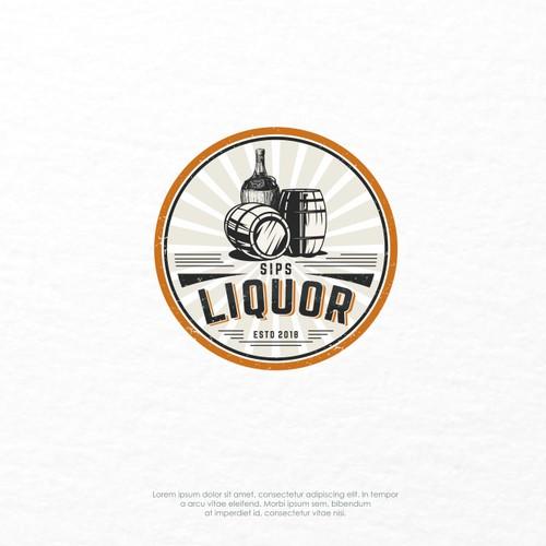 Logo Concept for Sips Liquor