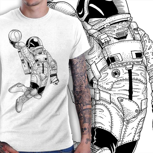 Spacesuit Dunk