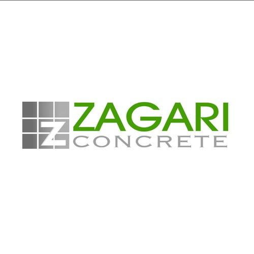 Zagari Concrete Logo