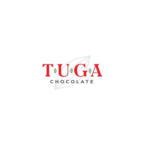 Bold logo for craft chocolate company