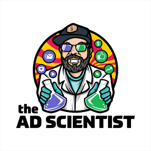 Logo for The Ad Scientist