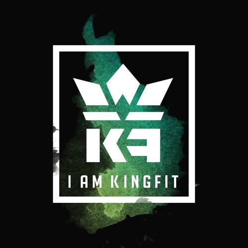 T shirt design concept for Kingfit