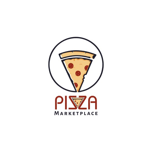 Pizza app logo