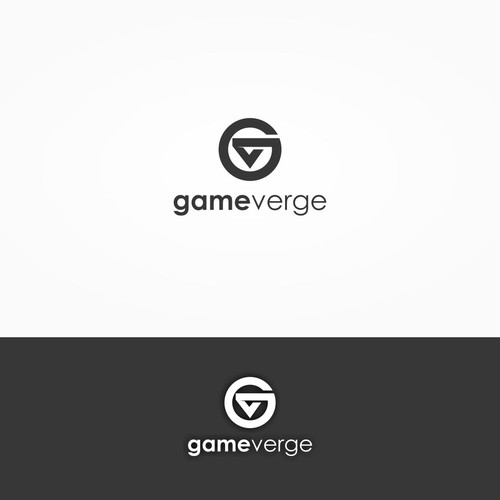 GameVerge logo design