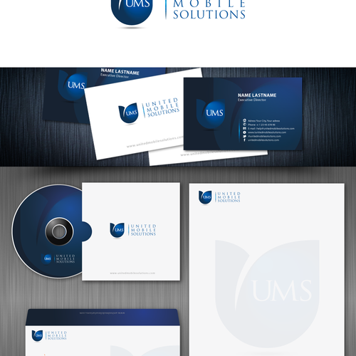 Help United Mobile Solutions  with a new logo
