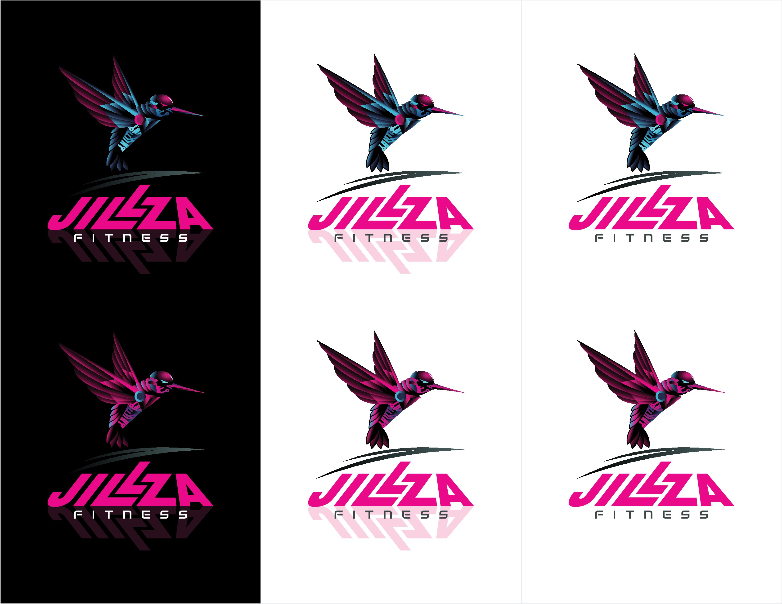 Jillza Fitness needs to jump up and stand out!